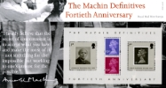 Machin 40 Years: Miniature Sheet