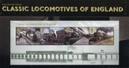 Classic Locomotives: Series No.1: Miniature Sheet
