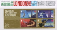 Welcome to the London 2012 Olympic Games: Miniature Sheet