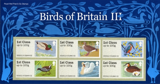 Birds of Britain: Series No.3 Presentation Pack