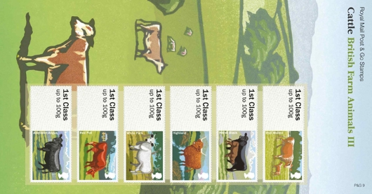 Farm Animals: Series No.3, Cattle Presentation Pack