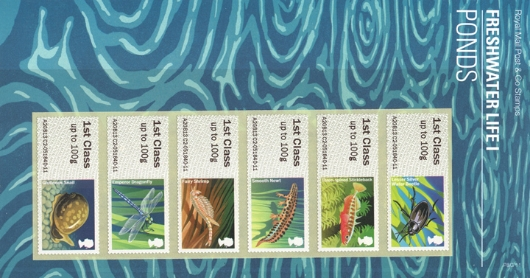 Freshwater Life: Series No.1, Pond Life Presentation Pack