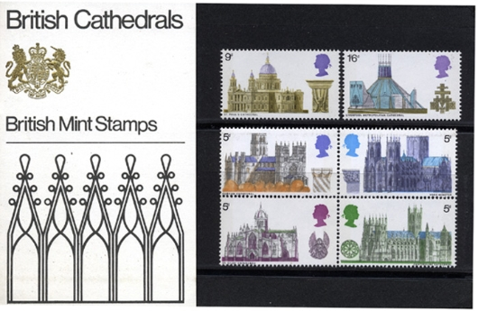 British Cathedrals Presentation Pack