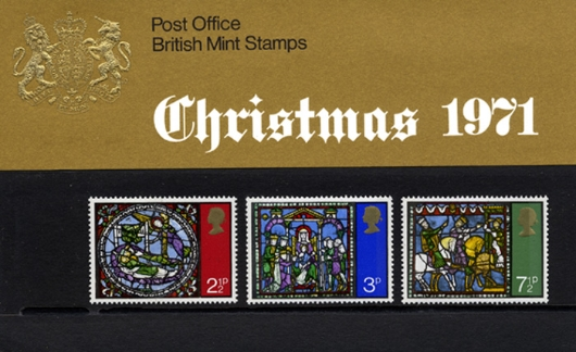 Christmas 1971 Presentation Pack