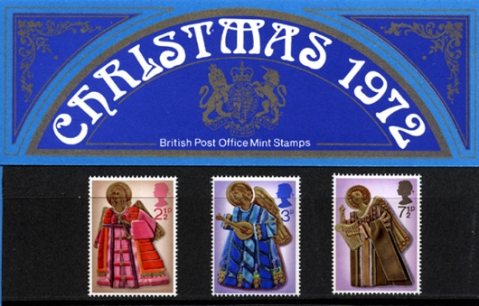 Christmas 1972 Presentation Pack