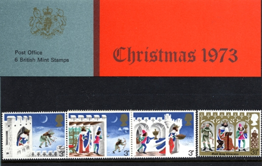 Christmas 1973 Presentation Pack