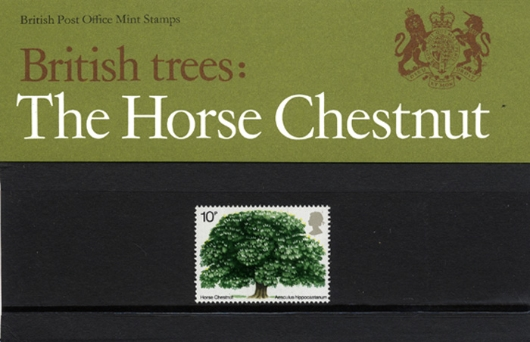 British Trees - The Horse Chestnut Presentation Pack