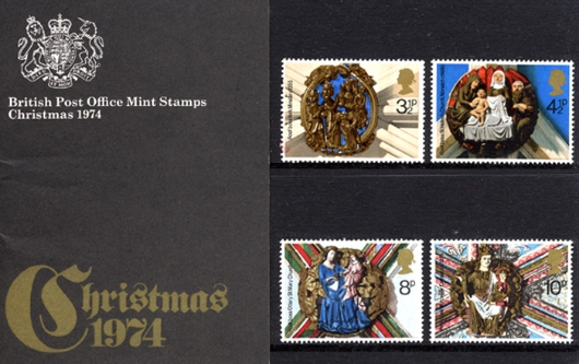 Christmas 1974 Presentation Pack