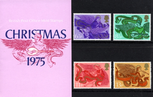 Christmas 1975 Presentation Pack