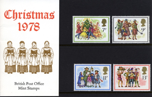 Christmas 1978 Presentation Pack