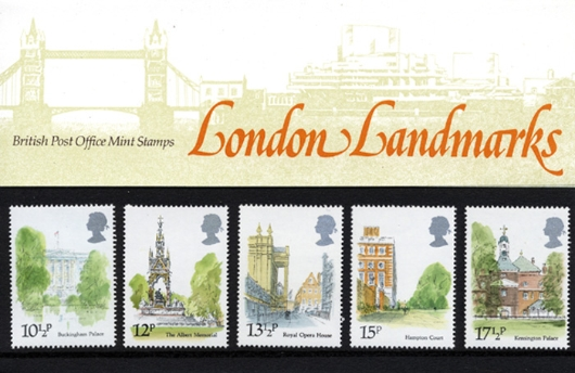 London Landmarks Presentation Pack