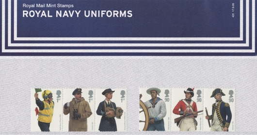 Navy Uniforms Presentation Pack
