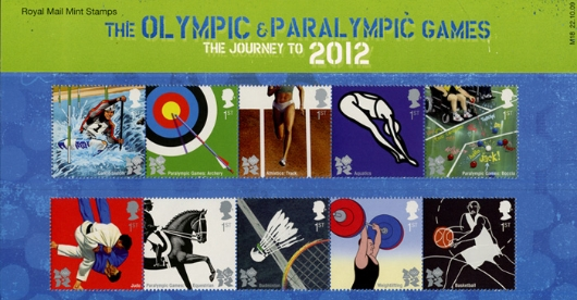 Olympic Games: Series No.1 Presentation Pack