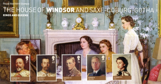 House of Windsor Presentation Pack