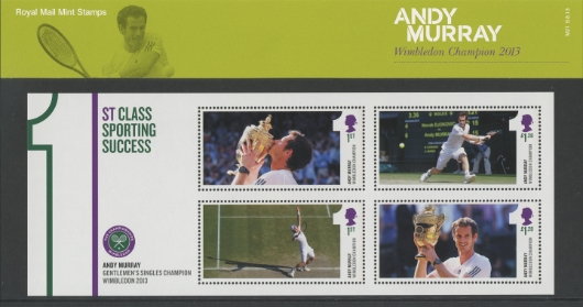 Andy Murray Wimbledon 2013 Presentation Pack