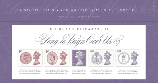 Long to Reign Over Us: Miniature Sheet Presentation Pack