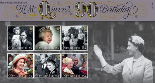 H M The Queen's 90th Birthday Presentation Pack