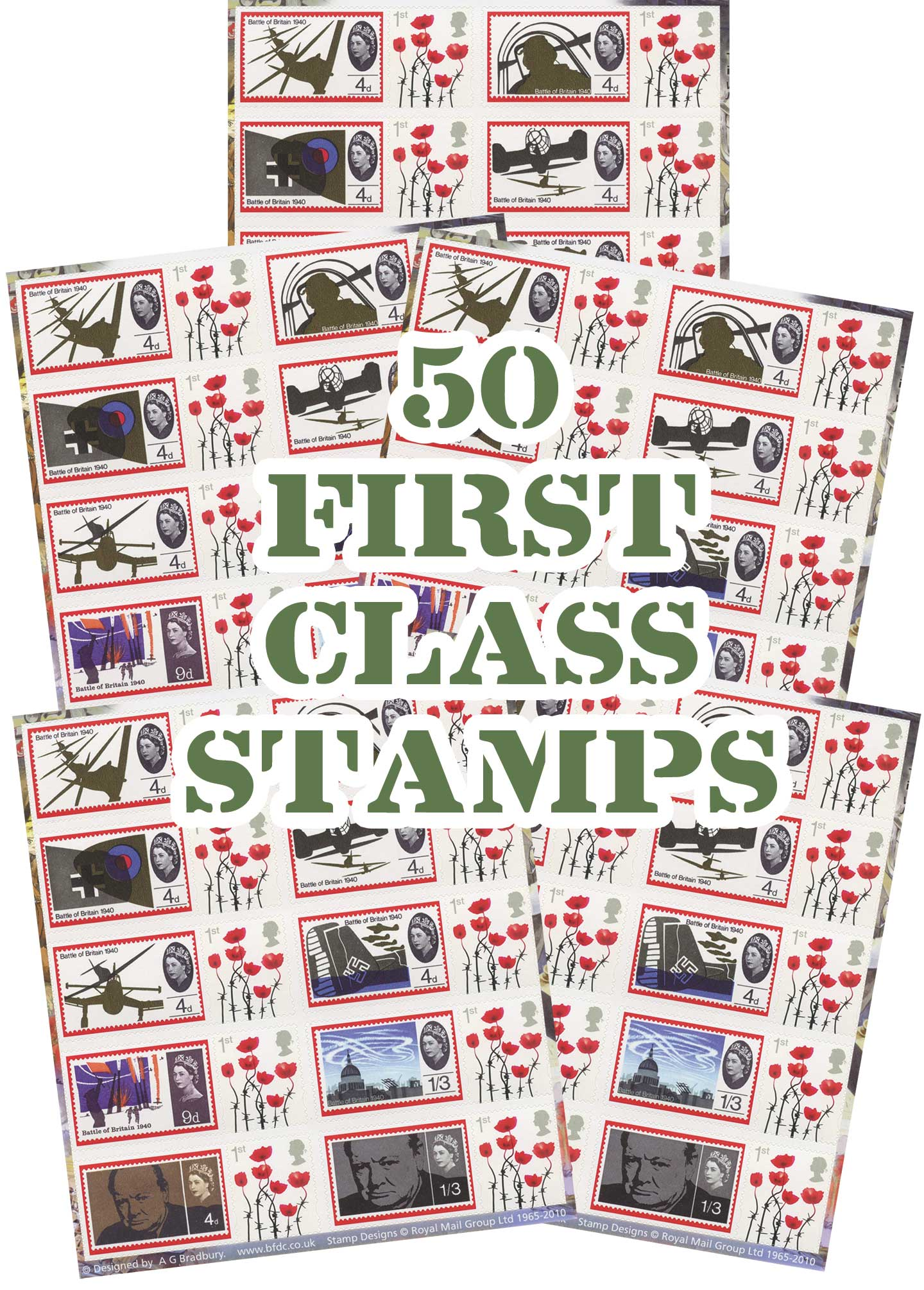 WWII stamps - SAVE £6