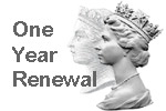 One Year Subscription Renewal British Stamp Organiser - One year subscription renewal