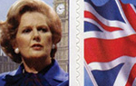 Mrs Thatcher Stamps - SAVE £6 50 x 1st Mrs Thatcher 1st Class stamps and labels