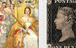 Queen Victoria Stamps - SAVE OVER £9 60 x 1st Victoria 1st Class stamps and labels