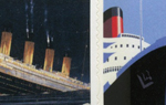 Titanic Stamps - SAVE OVER £7.50 50 x 1st Titanic 1st Class stamps and labels