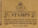Stitched: KGVI: 5s Post Office Guide 2/6