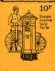 Stitched: New Design: 10p Pillar Boxes 4 (1866)