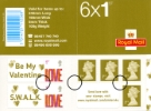 Self Adhesive: 6 x 1st Advert (Valentines)