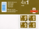 Self Adhesive: Security Features: 4 x 1st Large
