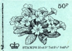 Stitched: New Design: 50p Flowers 2 (Primrose)
