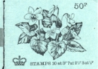 Stitched: New Design: 50p Flowers 5 (Violet)