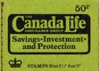 Stitched: New Design: 50p Canada Life (Moss-green)