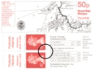 Vending: New Design: 50p Sea Charts 2 (Land's End)