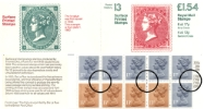 Counter: New Design: £1.54 Postal Hist. 13 (QV Surface-printed Stamps)