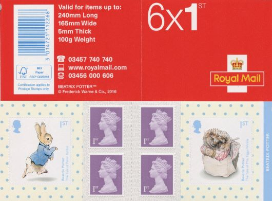 : Beatrix Potter Stamp Book