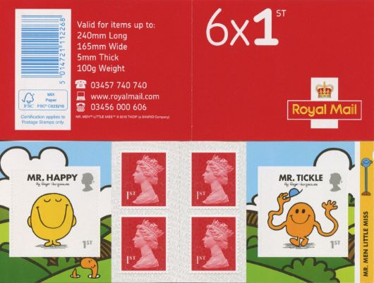 : Mr Men & Little Miss Stamp Book