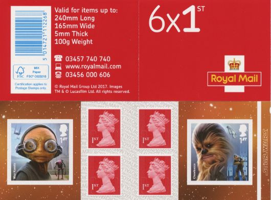 : Star Wars Stamp Book