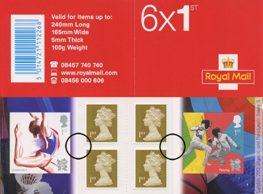 : Olympic Games: Book No. 6 Stamp Book