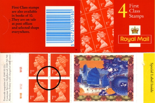 Stamp Book: Hong Kong Hand Over