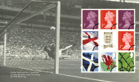 Prestige Stamp Book: Football Heroes - Pane 1