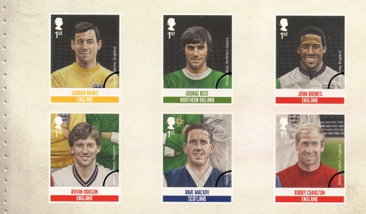 Prestige Stamp Book: Football Heroes - Pane 3