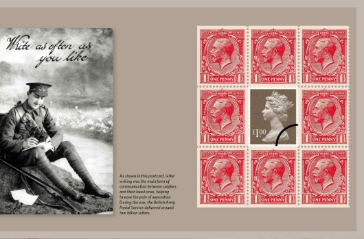 Prestige Stamp Book: The Great War 2014 - Pane 3