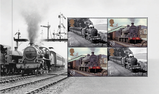 Prestige Stamp Book: Classic Locomotives - Pane 4