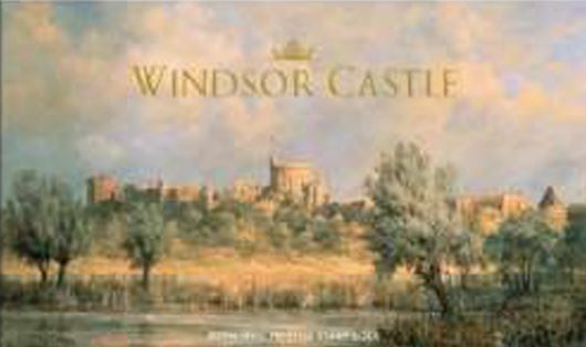 Prestige Stamp Book: Windsor Castle