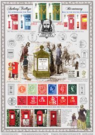 43667 | 24.04.2015 - Bicentenary of Anthony Trollope | Anthony Trollope [Commemorative Sheet] | £22.50