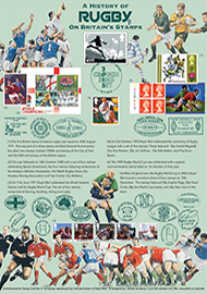 43945 | 18.09.2015 - History of Rugby on Stamps | Rugby World Cup | £22.50