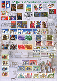 44697 | 03.11.2015 - 50 Years of Christmas Stamps (Part 1) | Christmas 2015 | £22.50