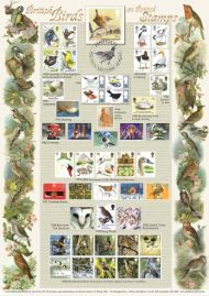 46543 | 04.05.2017 - British Birds on Stamps | Songbirds | £22.50