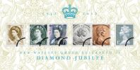 View enlarged 'Diamond Jubilee: Miniature Sheet' Image.